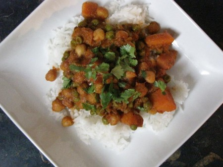Chana Masala my way