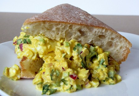 Curried Egg Salad (with image) · belljanice · Storify