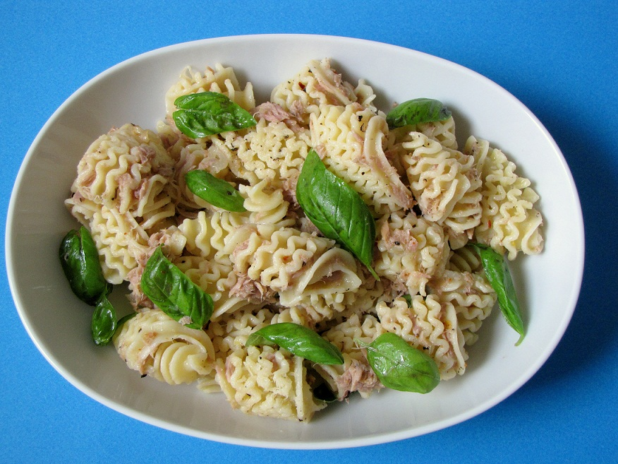 Spicy Basil and Lemon Pasta