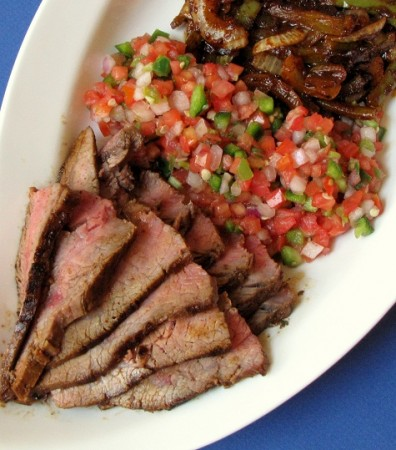 Big Day and Grilled or Pan-Seared Chile-Spiced Skirt Steak Fajitas ...