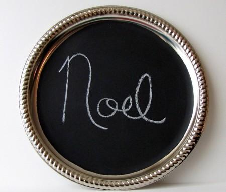 Etsy chalkboard platter
