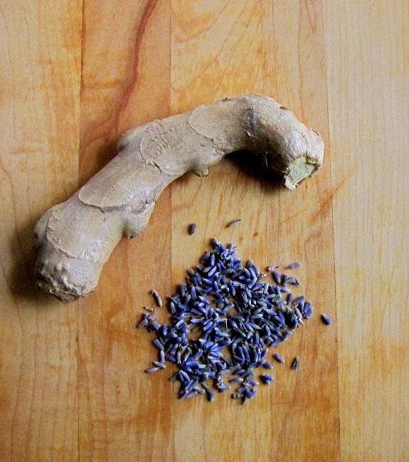 ginger lavender syrup