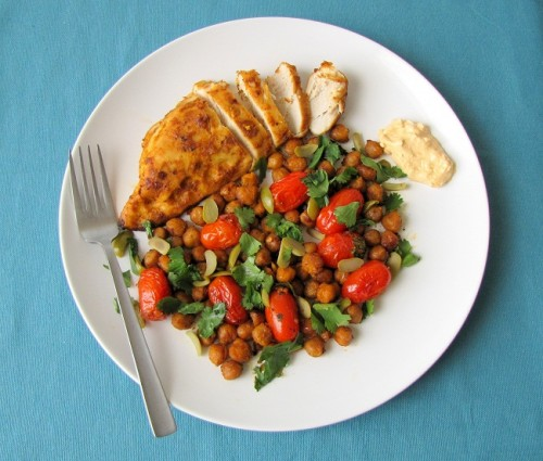 Must Make: Roast Chicken Breasts with Chickpeas, Tomatoes ...